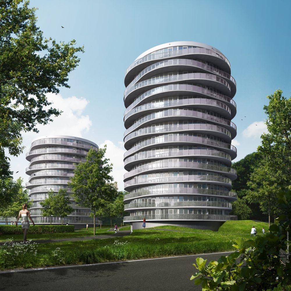 Nieuwbouw-makelaar-nieuwbouw-woning-kopen-Overspaern-Makelaardij-Haarlem-en-omgeving-twister-woontorens