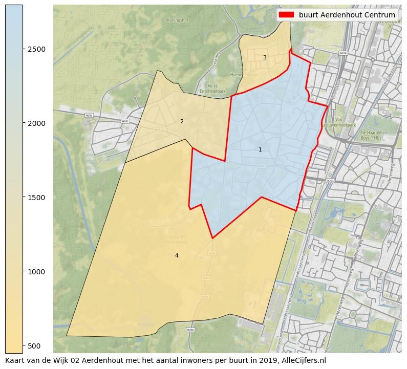 Aerdenhout-kaart